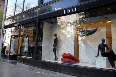 Emilio Pucci Flagship Store in Madison Avenue.