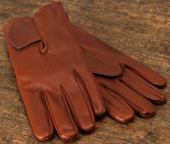 Purdey Calf Leather Shooting Glove With Velcro Cuff: £250.