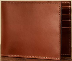 Purdey Small Leather Goatskin Lined Wallet: £150.