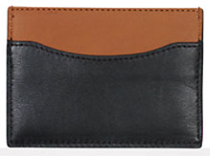 Ralph Lauren Two-Toned Nappa Card Case: US$175.