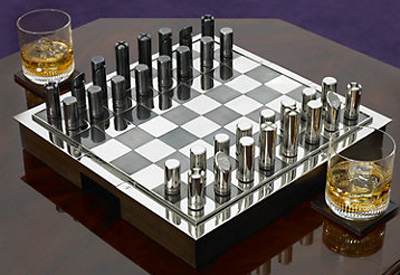 Ralph Lauren Hammond Chess Set: US$1,995.