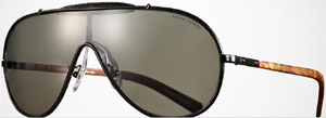 Polo Ralph Lauren Auto Aviator Shield Men's Sunglasses: US$260.