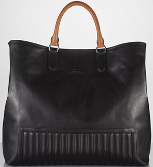 Ralph Lauren Men's Quilted Tote: US$1,100.