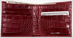 Ralf Lauren Alligator Hipster Wallet: US$1,995.