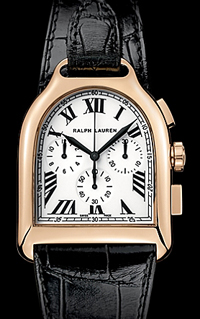 Ralph Lauren Stirup Collection 18K rose gold.