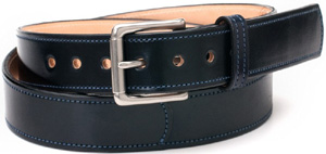 Rancourt Belt - Navy Shell Cordovan: US$205.