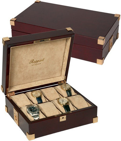 Rapport (London): Captain's Collector Box.