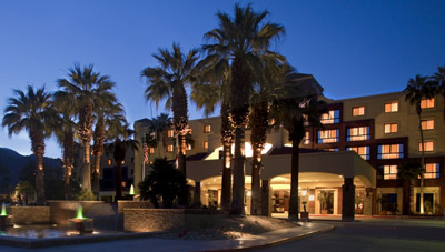 Renaissance Palm Springs Hotel, 888 E Tahquitz Canyon Way.