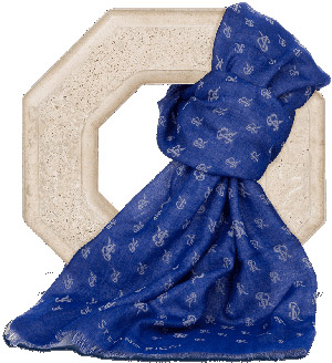 Stefano RicciSR Logo scarf in cashmere and silk: US$400.