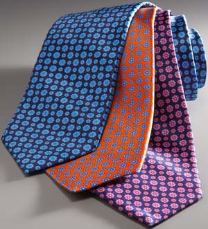 Steffano Ricci silk neckties: €200.