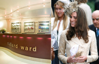 Kate Middleton favors the Richard Ward Salon in 82 Duke of York Square, Chelsea, London SW3 4LY, England, U.K.