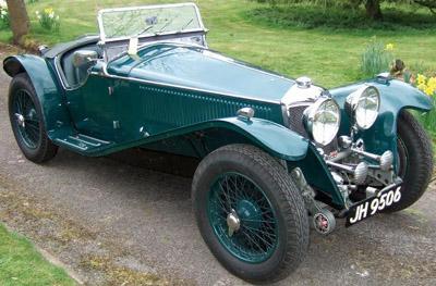 1940 Riley MPH.