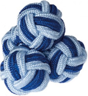 Roderick Charles Navy & Blue Silk Knots: £5.