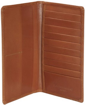 Roderick Charles Brown Leather Wallet: £99.