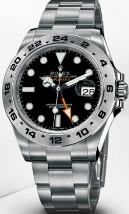 Rolex Oyster Perpetual Explorer II.