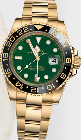 Rolex Oyster Perpetual GMT Master II.