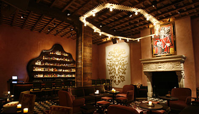 The Rose Bar at Gramercy Park Hotel, 2 Lexington Avenue, New York, NY 10010.