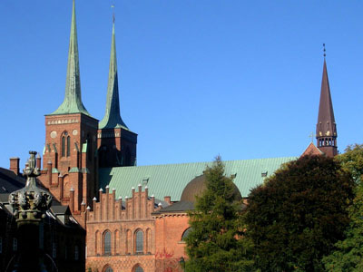 Roskilde Cathedral.