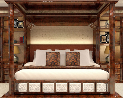 Royal Suite Collection bed.