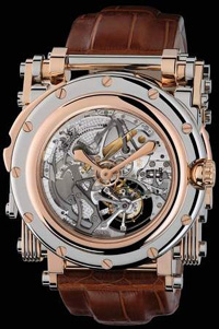 Manufacture Royale Accordion Watch.