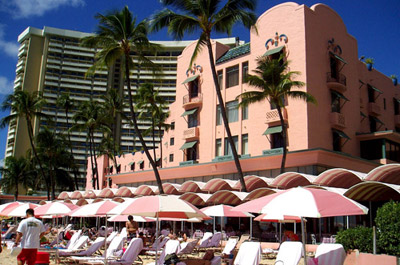 Royal Hawaiian Hotel.