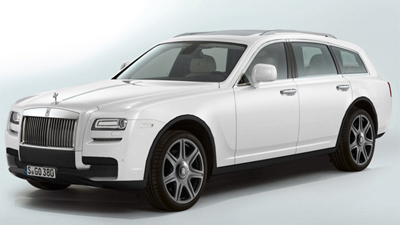 Rolls-Royce May Build A Sleek SUV.