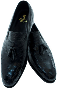 Mariano Rubinacci Mocassino Nero Shoes: €1,300.