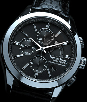 Rufus Gerard Lacus Temporis automatic chronograph.