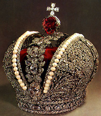 The Great Imperial Crown for the coronation of Catherine the Great in 1762.