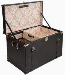 Swaine Adeney Brigg bespoke Life Time trunk and chest: £10,500.