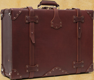 Saddleback Leather Company Leather Suitcase.