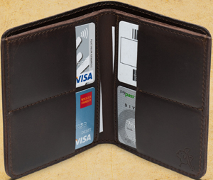 Saddleback Leather Company Bifold Wallet: US$59.