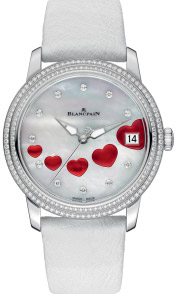Blancpain Women Ultraplate Saint Valentin Watch.