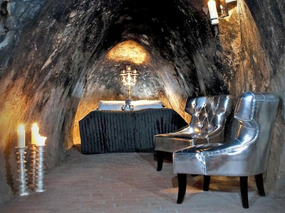 The Mine Suite at Sala Silvermine Hotel, Dr. Christinas Väg, Västmanland County, 733 36 Sala, Sweden.