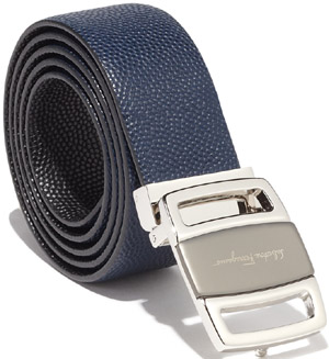 Salvatore Ferragamo Reversible and Adjustable Men's Belt: €320.