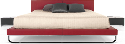 Cassina Samsara bed.