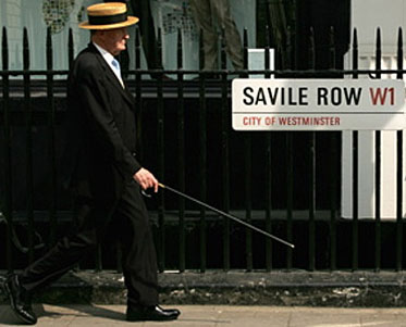 Savile Row, Mayfair, City of Westminster.