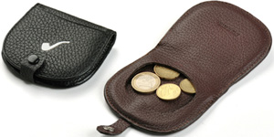 Leather Coins Holder Tacco Savinelli.
