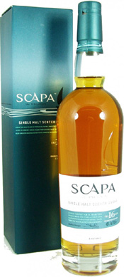 Scapa 16 Year Old the Orcadian.