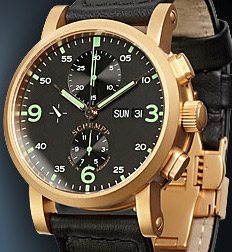 Schempp Golden Aviator chronometer ref. 430.