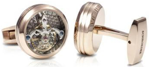 Schroeder Tourbillon Cufflinks.