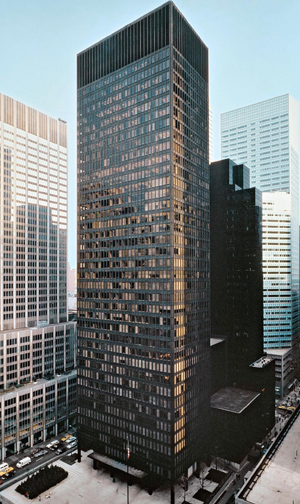 Seagram Building, 375 Park Avenue, New York City, New York, NY 10152, U.S.A.