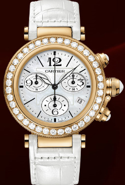 Cartier Pasha Seatimer Lady Watch, Pasha de Cartier Collection.
