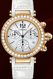 Pasha Seatimer Lady Watch, Pasha de Cartier Collection.
