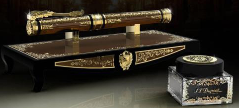 S.T. Dupont Second Empire Prestige Writing Kit: US$5,300.