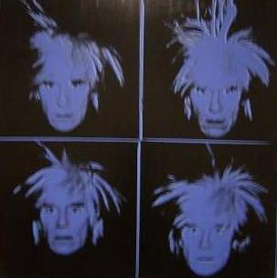 Self Portrait (1966) by Andy Warhol.
