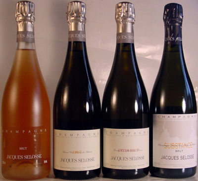 Jacques Selosse champagnes.