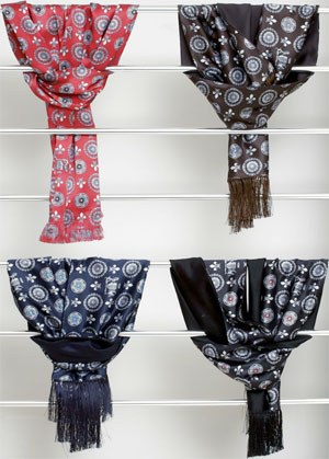 Massimo Sforza Men's Silk Scarves.