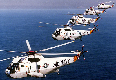 Sikorsky SH-3 Sea King.
