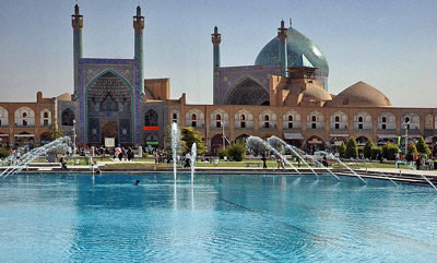 Shah Mosque, Isfahan.